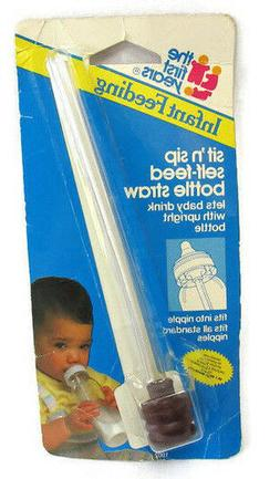 THE FIRST YEARS Vintage 1990 Infant Feeding Sit'n Sip Self F