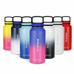 Water Bottle +2 Extra Accessories -18 Oz,24 Oz,32 Oz or 36 O