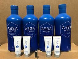 ASEA Water Redox Supplement 4 Bottles + 4 Renu28+USB FreeShi